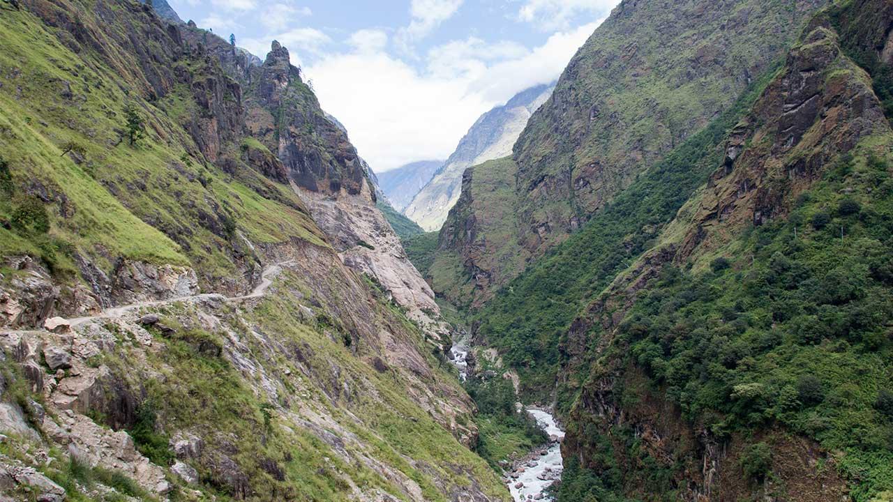 Annapurna Circuit Trek Distance