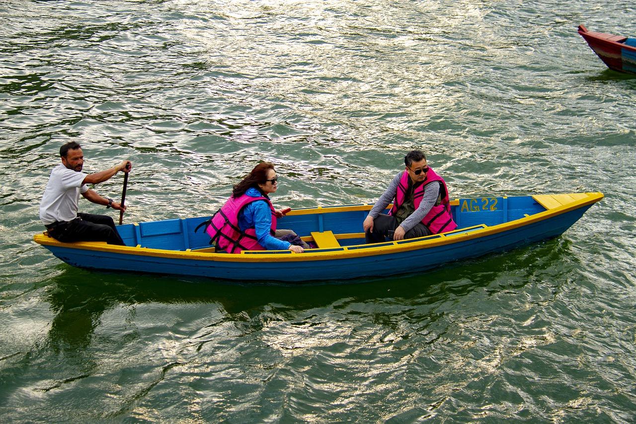 Kayaking in Seti River