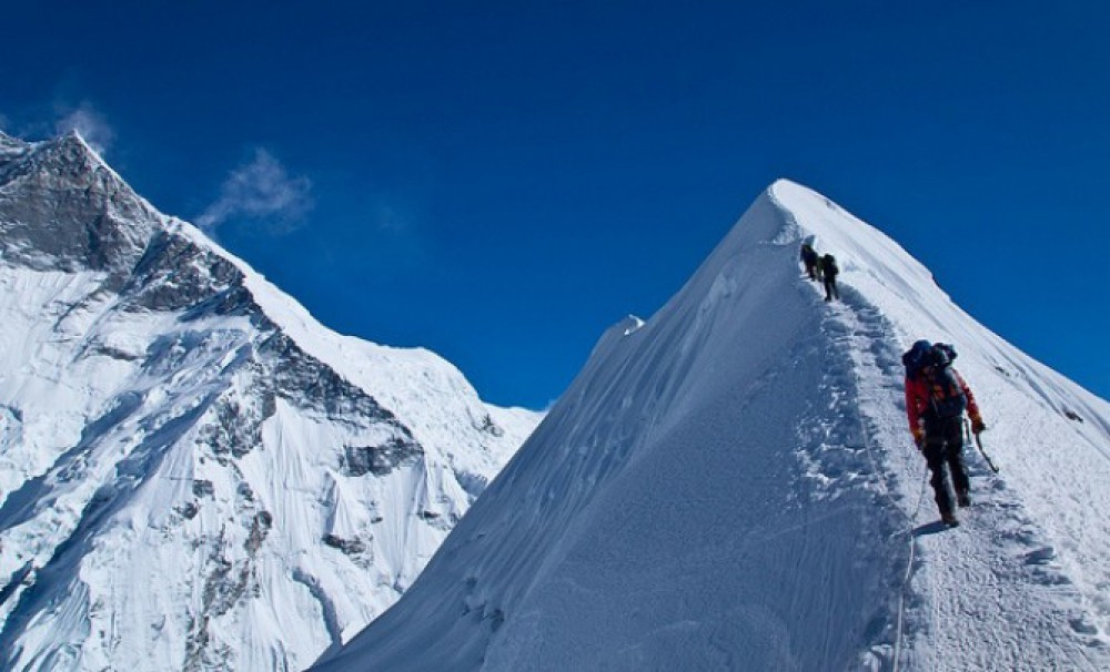 01. Island Peak Climbing